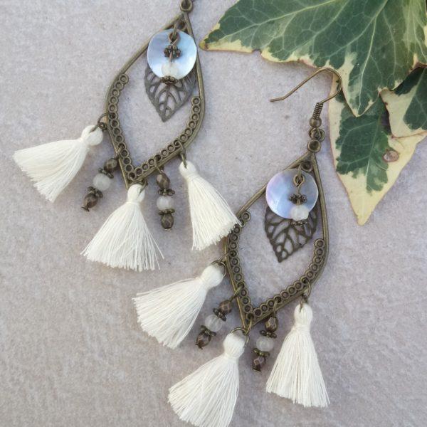 Boucles d'oreilles Lauréline - Nolista