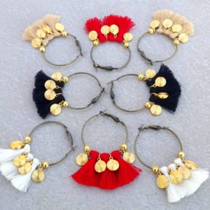 Boucles d'oreille Sylvia OR.Nolista