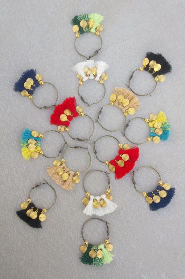 Boucles d'oreille Sylvia OR.Nolista