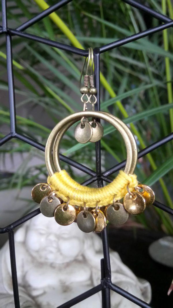 Boucles d'oreilles Clémentine.Nolista