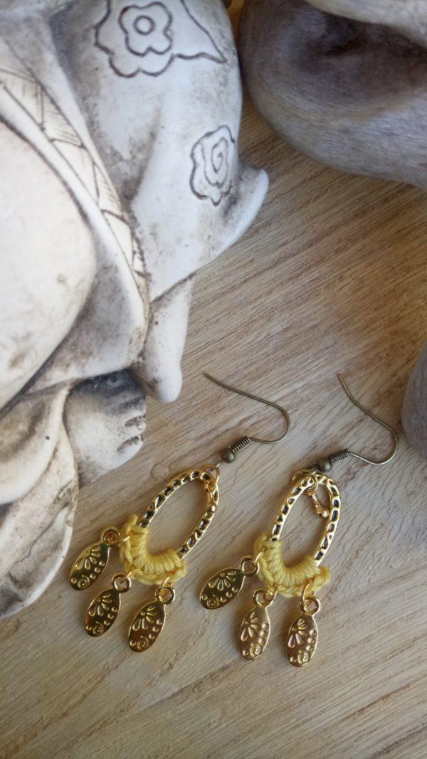 Boucles d'oreilles Mathilde.Nolista.